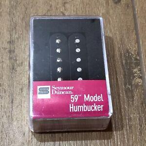 Seymour-Duncan-SH-1N-59-Neck-Humbucker-PAF-Les-Paul-Pickup-Black