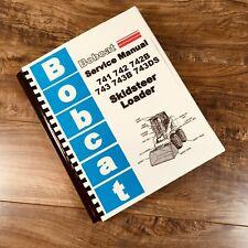 Service Manual Bobcat 741 742 742b 743 743b 743ds Skidsteer Loader Repair Manual