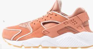 646cb23d6901 Image is loading Nike-Air-Huarache-Run-Premium-Blush-Pink-Women-