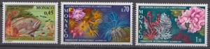 PP136-MONACO-STAMPS-1974-MARINE-LIFE-VERY-FINE-MNH