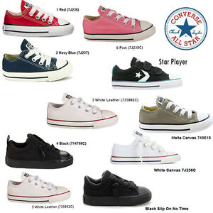 converse star player infant size 6