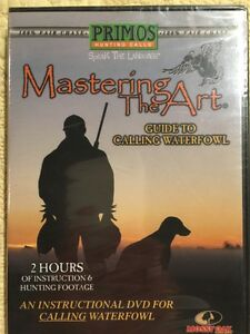 Primos-Mastering-The-Art-Guide-to-Calling-Waterfowl-DVD-New-Sealed