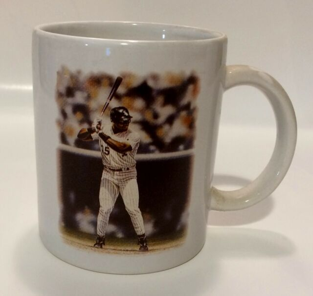 FRANK THOMAS Chicago White Sox MLB Baseball Player 11oz Ceramic Mug (scarce)
