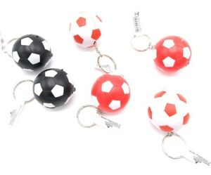 12x-Schluesselanhaenger-Fussball-Taschenlampe-versch-Farben-Mitgebsel-Tombola-Neu