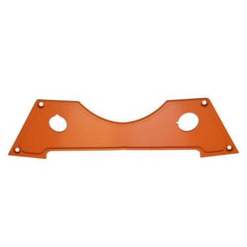 Polaris RZR XP 1000 Dash Panel Set of 3 Orange Aluminum CNC