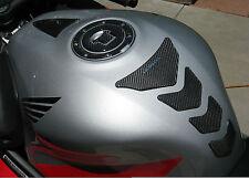 Honda CBR 1000R 600R Real Carbon Fiber tank Protector pad & fuel cap cover +trim