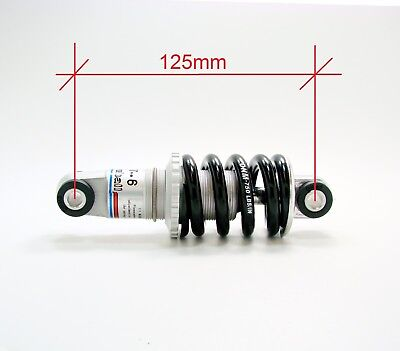 Fast Shipping DNM Mountain Bike Biycle Coil Spring Rear Shock 750 lbs 230 x 65mm