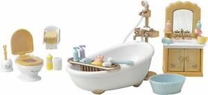 Calico-Critters-Country-Bathroom-Set-25-Pcs-Accesories-Sink-Shower-Toilet-Toys