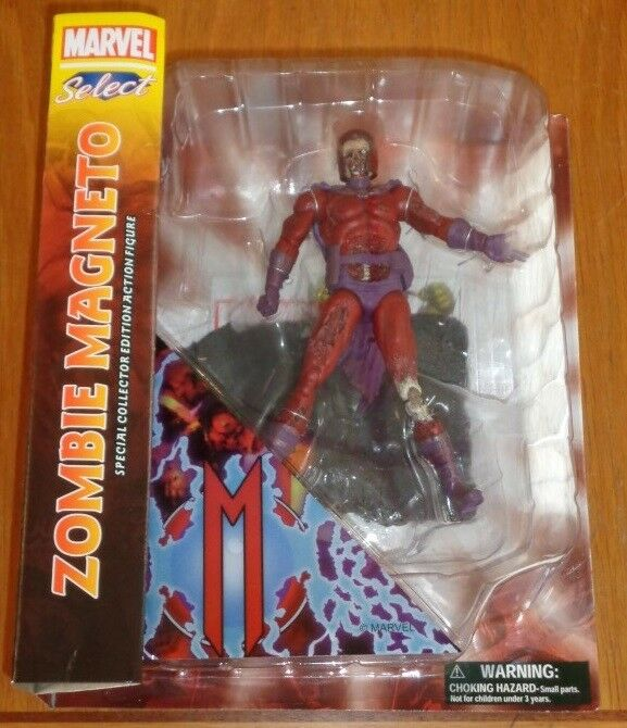 Zombie Magneto Marvel Select Special Collector Action Figure Diamond Select NEW