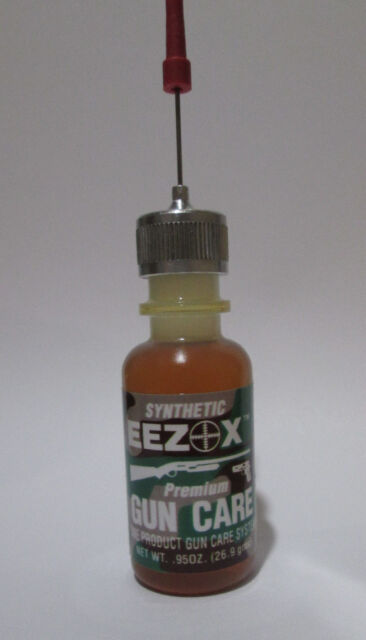 0.95 Oz Oiler Synthetic EEZOX Premium Gun Care oil Good from -450F up to 95F