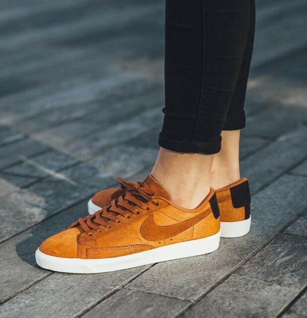 2018 sneakers classic styles official images Womens Nike Blazer Low LX Size 7 EUR 41 (aa2017 200) Cider Pony Hair''