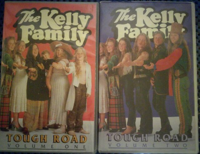 The Kelly Family - Tough Road Vol. 1 + 2 - 2 Videos!