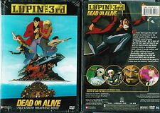 Lupin the 3rd - Dead or Alive (DVD, 2005, Uncut)