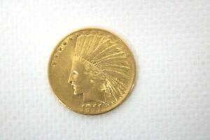10 Dollars 1911 Indianerkopf Adler Gewicht 16,62
