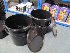 4 x 20 litres seaux de mélange avec couvercle. le mélange des solutions- poissons appâts- peinture etc-afficher le titre d`origine E2NkkkH7-07194020-114798993