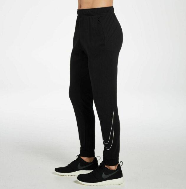 Nike Training Pants Mens Black Dri Fit