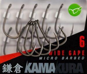 Korda-New-Kamakura-Wide-Gape-Hooks-Brand-New-Release
