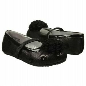new stride rite dress shoes flats baby kenleigh black