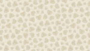 Per 1//4 Metre Makower Fabric Christmas Scandi 4 Montage Cream