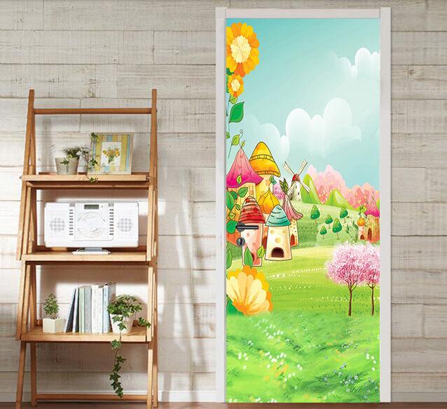 3D Karikatur 78 Tür Wandmalerei Wandaufkleber Aufkleber AJ WALLPAPER DE Kyra  | Verschiedene aktuelle Designs  | Abgabepreis  |  Neuer Markt