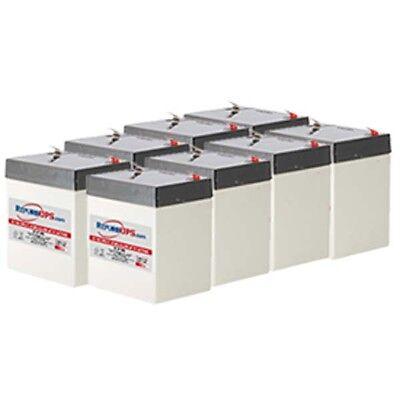 New Battery Set for APC Smart-UPS 2200VA Rack Mount 3U SU2200RM3U Compatible Replacement by UPSBatteryCenter