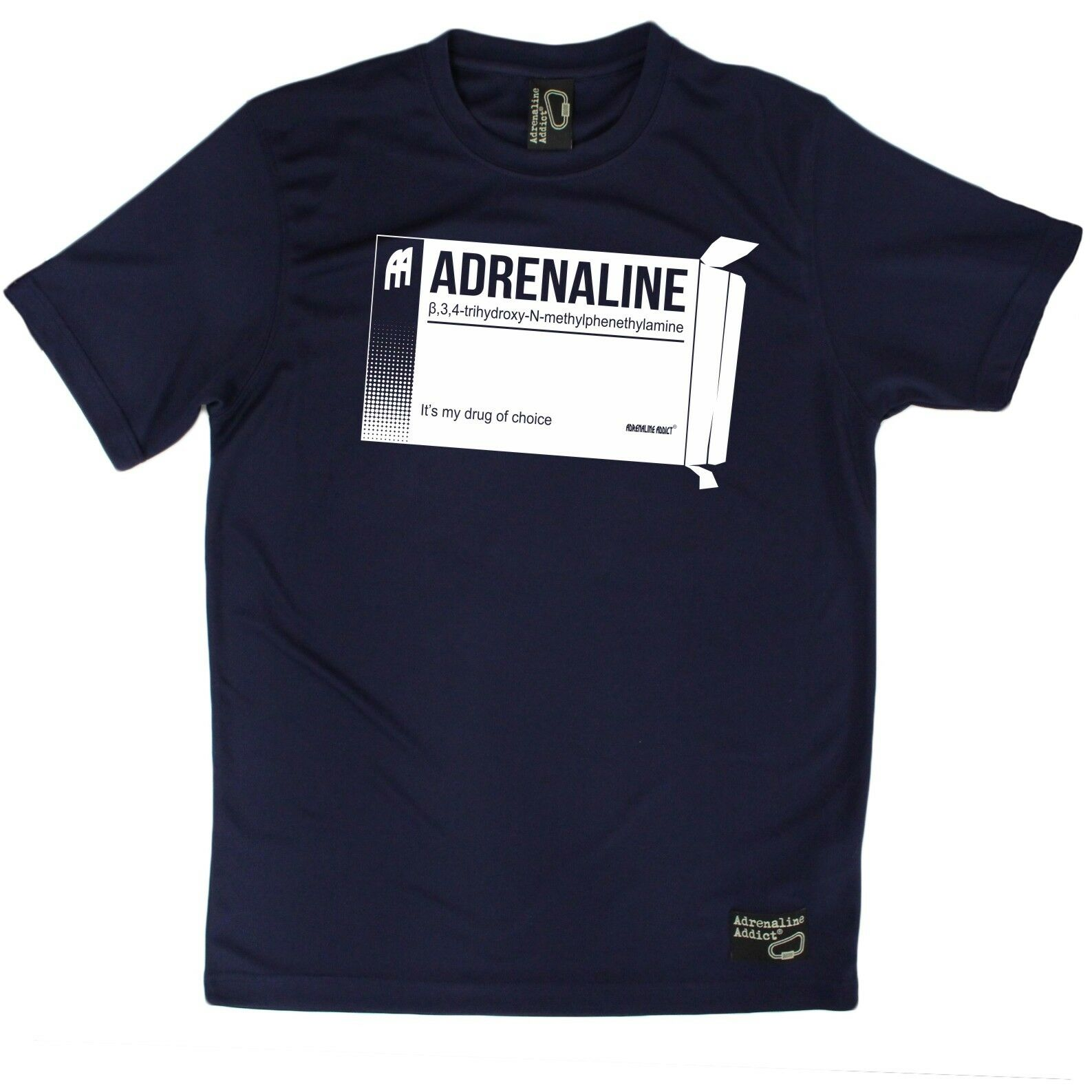 Men's Adrenaline Drug Of Choice Breathable Sports T-SHIRT