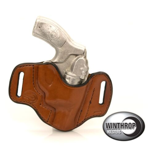 Smith /& Wesson Bodyguard .38 Insight Laser OWB R//H Holster Brown