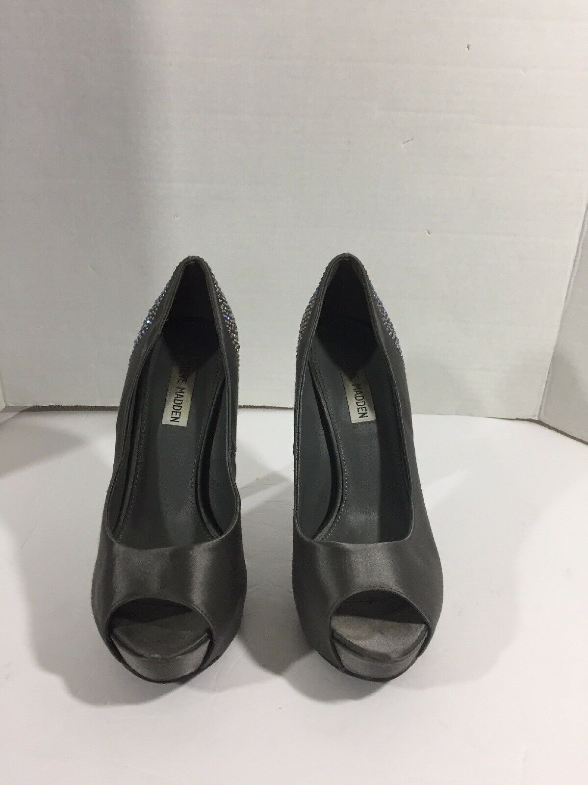 Steve Madden Shoes Women's Gray Sequin Shoes Madden Size 8 M 908cf3