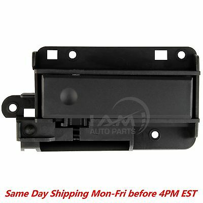 Chrome Black Upper Dash Glove Box Latch Handle Fits Chevrolet Silverado Sierra