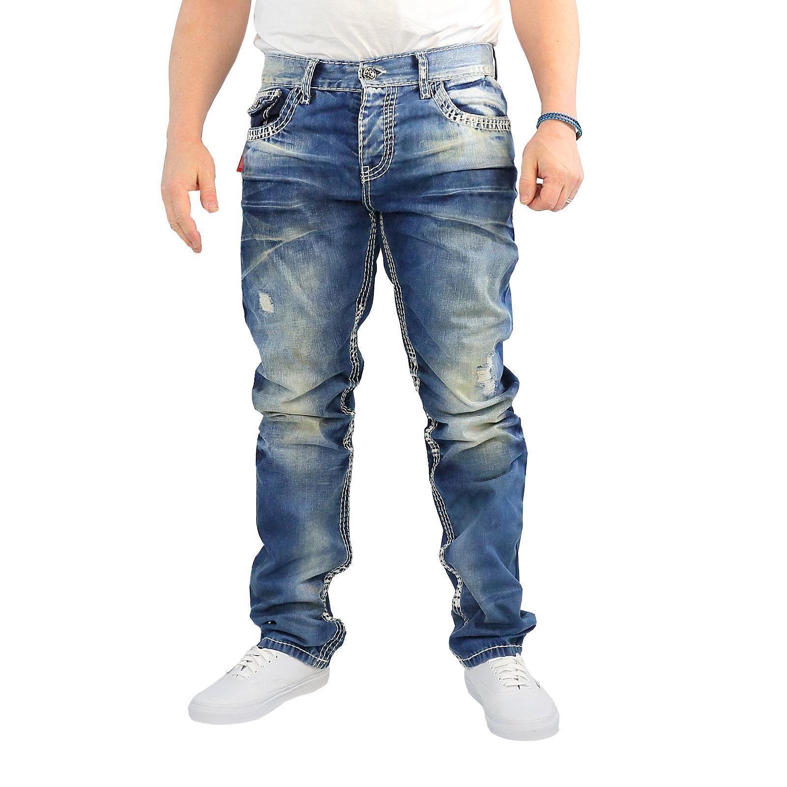 Cipo & Baxx CD 149 Jeans Uomo usato stile Pantaloni, colore midblu, 14987