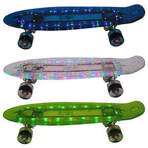 led mini board funtomia akku skateboard cruiser. Black Bedroom Furniture Sets. Home Design Ideas