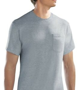 Fruit-of-the-Loom-Men-039-s-Pocket-T-shirts-6-pack-M-3XL-in-Famous-Brand-Packs