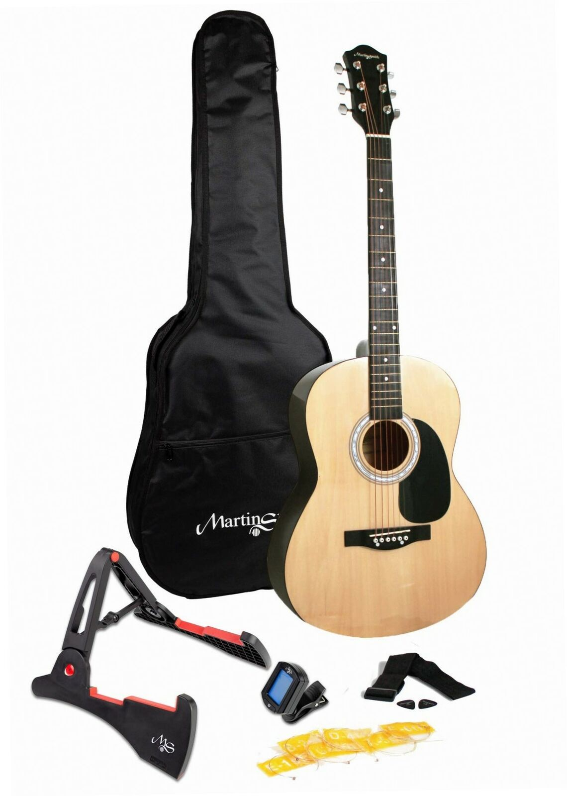 Martin Smith W-101-N-PK Acoustic Gitarre natural
