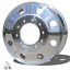 "thumbnail 1 - Dodge Ram 4500/5500 Ford F450/550 19.5x6 10 Lug ""Alcoa Style"" Front/Rear Polish"