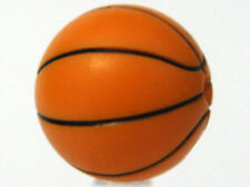 LEGO SPORTS - Minifig Basketball with Standard Lines Pattern - Orange