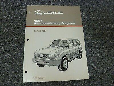 1997 Lexus Model LX450 SUV Electrical Wiring Diagram Manual Book 4.5L 4WD    eBayeBay
