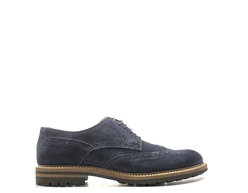 Schuhe HOLE  B Mann BLU Brogue,Wildleder  HOLE POLAR8950A-NO 66d28d