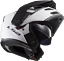 LS2-FF324-METRO-EVO-DUAL-VISOR-FLIP-FRONT-MOTORBIKE-ADVENTURE-HELMET-GLOSS-WHITE thumbnail 5