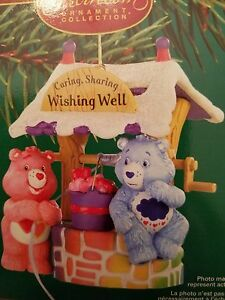 Carlton Cards Care Bears Wishing Well Ornament #112 – Heirloom Collection MIB