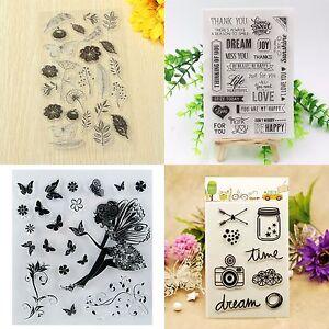 Silikonstempel-Stempel-Clear-Stamp-Scrapbooking-DIY-Basteln-Briefmarken-Gifts-1x