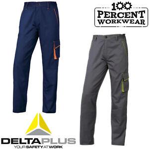 Diligent Électricien Plombier Entrepôt Combat Cargo Travail Pantalon Pantalon Genou Pad Poches-afficher Le Titre D'origine