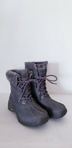 72f17a3724b Details about NEW IN BOX! UGG WOMEN'S ADIRONDACK GREY BOOT II LUXE QUILT  SIZE 5 STYLE 1016595