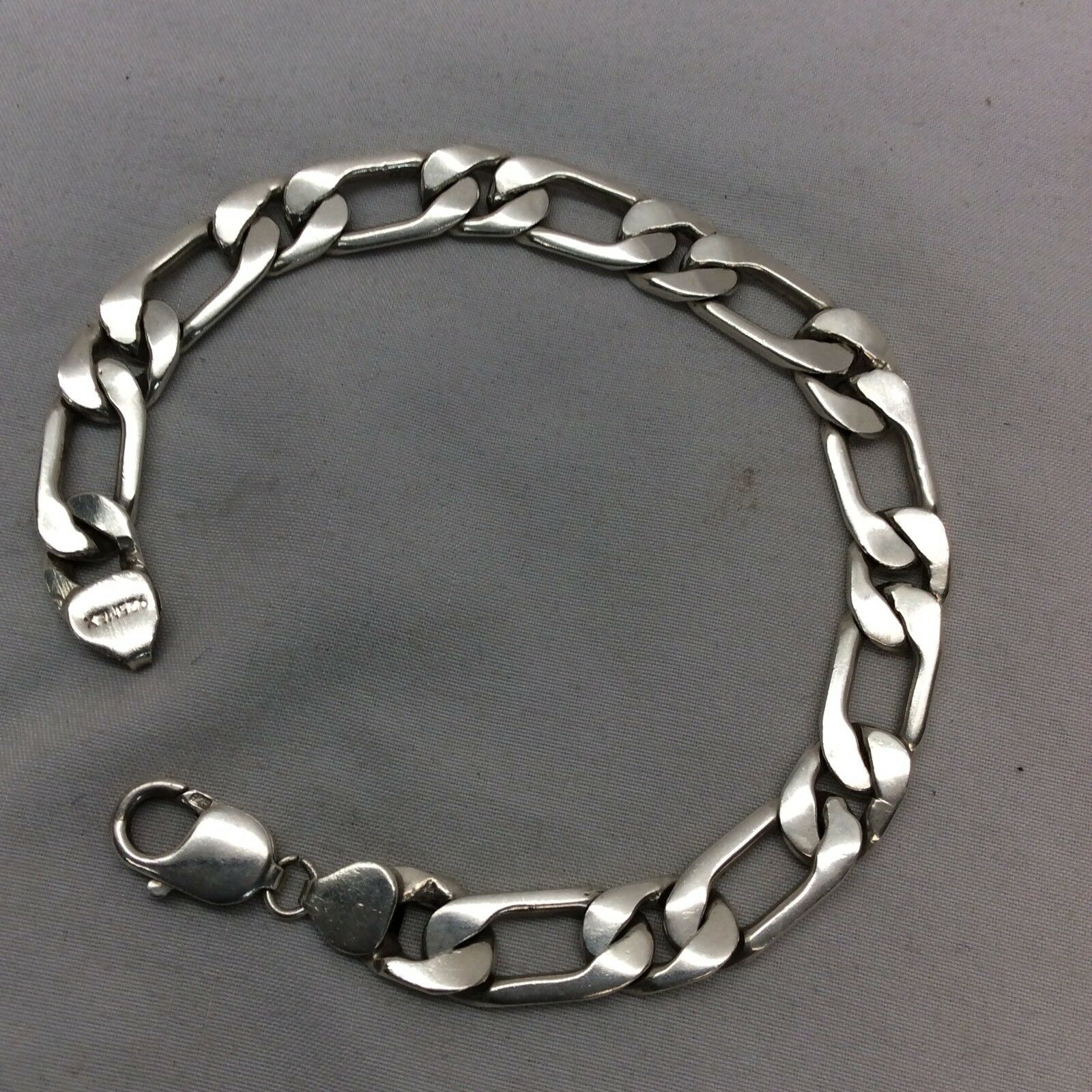 Beautiful Mexico sterling 925 Unisex Links Lobster Clasp bracelet