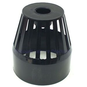 4 pond pre filter cage strainer solvent weld fitting ebay for Pond pre filter box