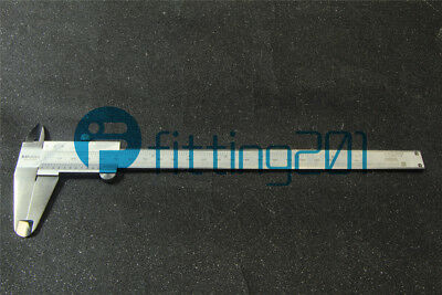 """NEW Mitutoyo 530-114 Vernier Caliper,Stainless Steel,Inch//Metric,0-8/"""" Range,+//-0"""