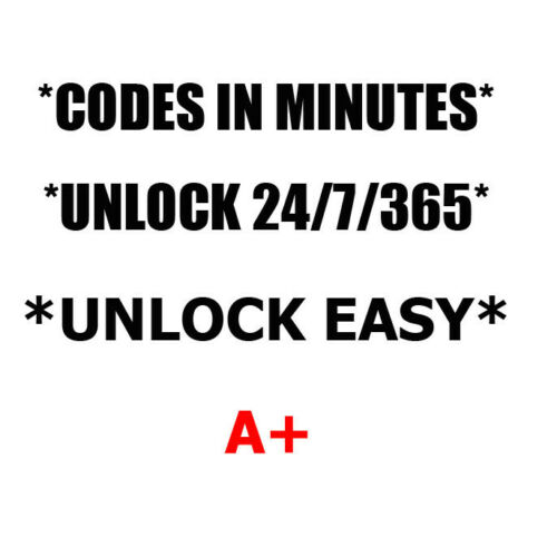 Unlock code HTC Surround T8788 Titan 1 PI39100 Touch Pro2 T7377 HD7S T9295 AT/&T