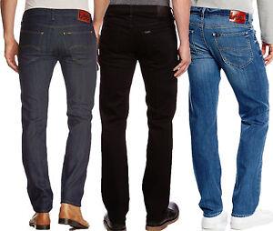 Details zu LEE Jeans Daren Herren Jeans W28 W38 L30 L36 blau schwarz Hose Regular Slim NEU