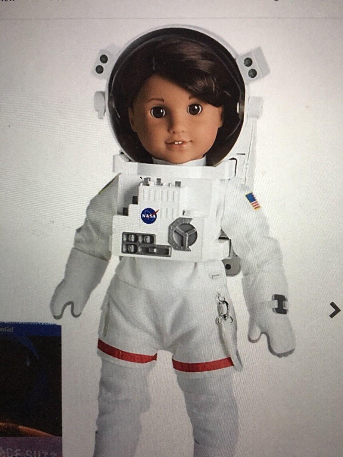 American Girl Luciana de espacio traje y Fligh Traje Nuevo Conjuntos Completos