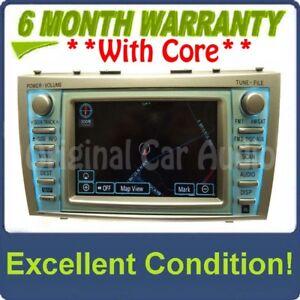 Image Is Loading Toyota Camry Navigation Gps Jbl Radio Mp3 Bluetooth