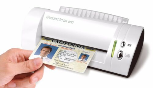 PenPower WorldocScan 600 Portable Color ID Card Scanner